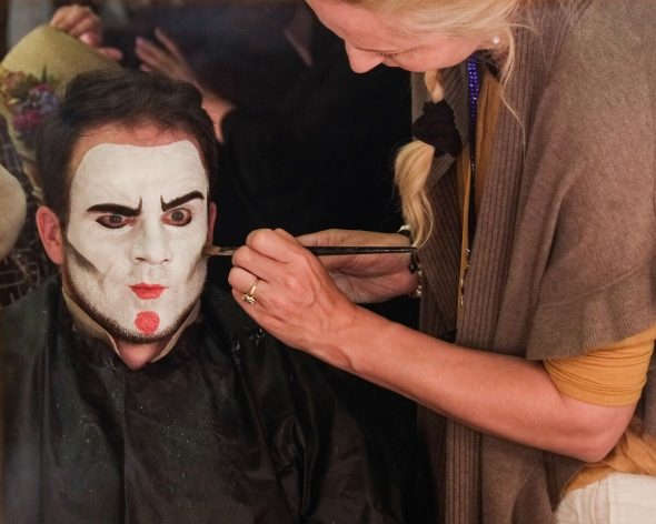 theatrical makeup artist